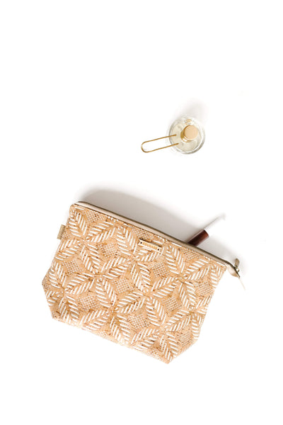ADVENTURER cosmetics bag | CREAM