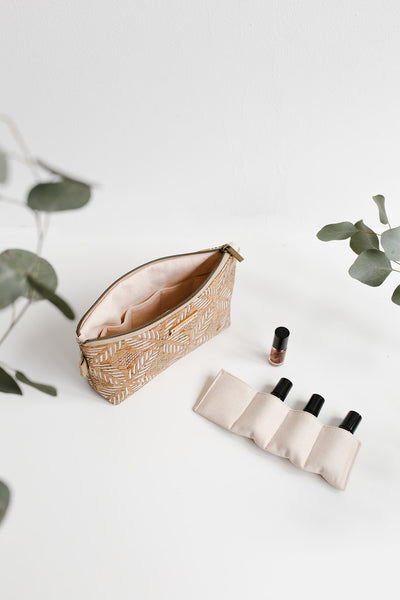 CREATOR essential oils bag | CREAM