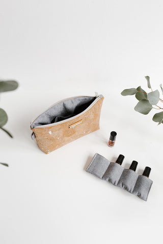 CREATOR essential oils bag | SILVER
