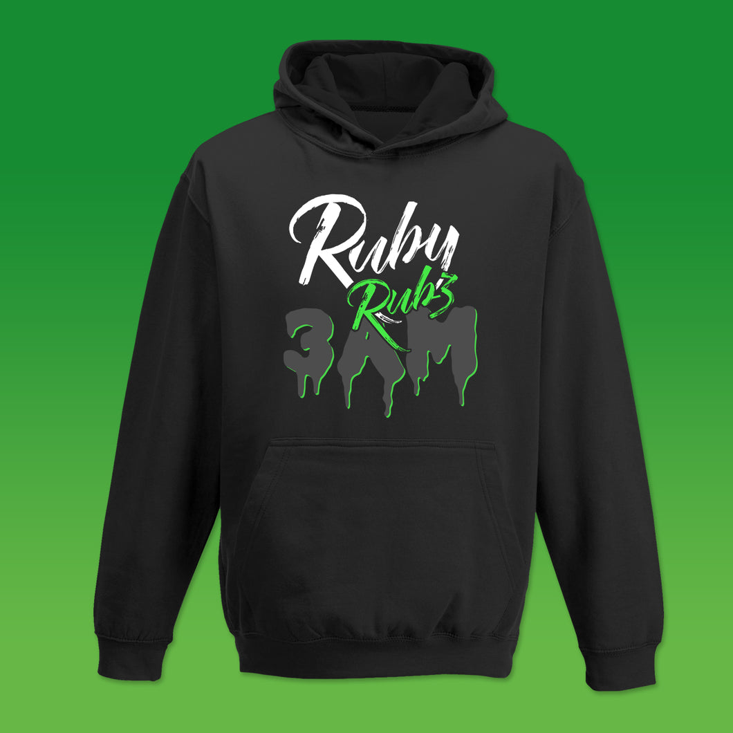 Ruby Rubz 3AM Hoodie in Black