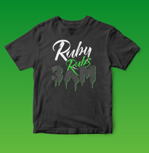 Load image into Gallery viewer, Ruby Rubz 3am T-shirt in Black