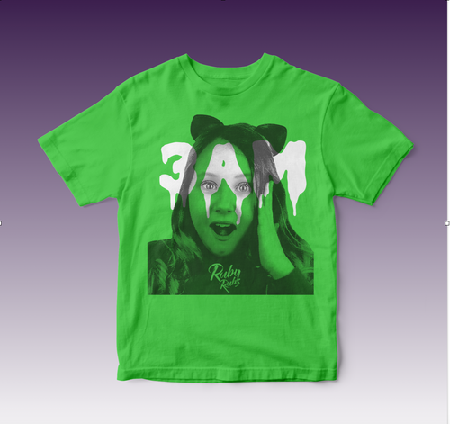 Green 3am Ruby Rube T-shirt