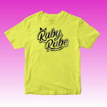 Load image into Gallery viewer, Ruby Rube Bright Yellow T-Shirt