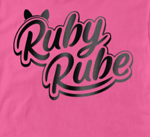 Ruby Rube Electric Pink T-Shirt