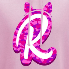 Load image into Gallery viewer, R Camo Logo Hoodie in Light Pink