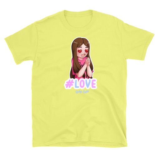 Ruby Rube - Love T-Shirt in Yellow
