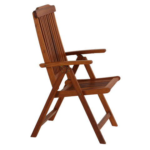 Bare Decor Bonty Position Solid Teak Accent Chair