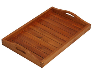 Bare Decor Vivi Spa/ Serving Tray in Solid Teak Wood