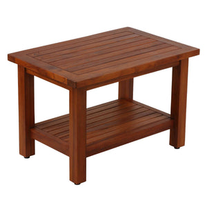 Bare Decor Fieta Solid Teak Wood Coffee Table