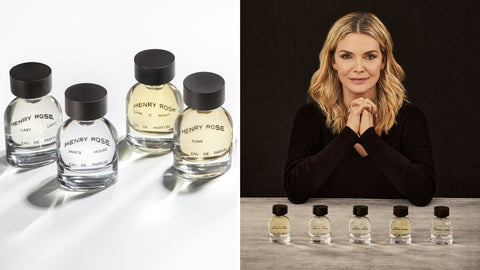 Michelle Pfeiffer's EWG-certified Henry Rose fragrance line