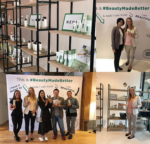 NENA Skincare Team at EWG Road Show's After Hour Pop-up Even in Seattle and Portland