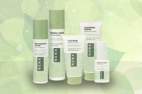 Eco-friendly skincare, NENA natural skin care