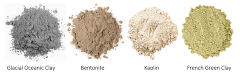 clay types for skincare