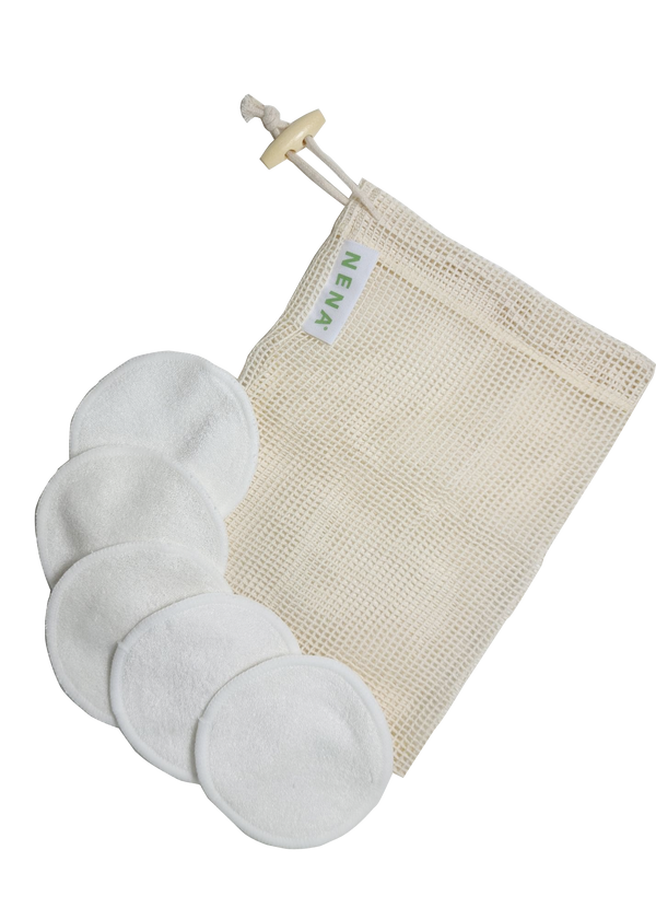 Bamboo Cotton Pads Set