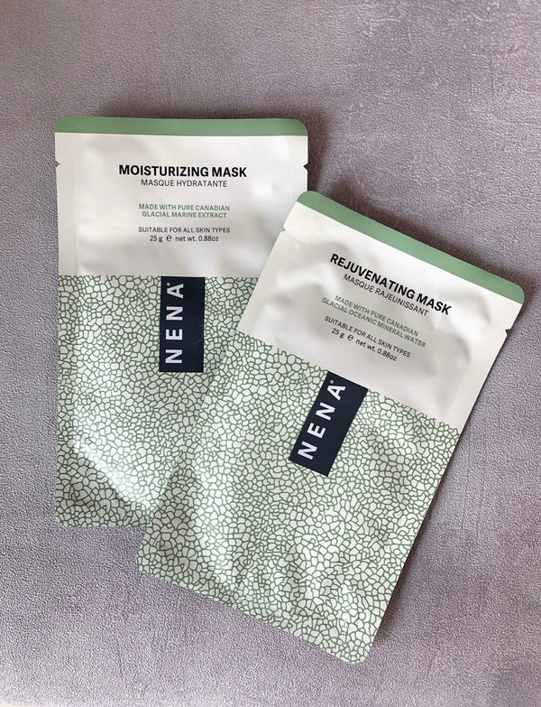 NENA Rejuvenating and Moisturizing Sheet Masks