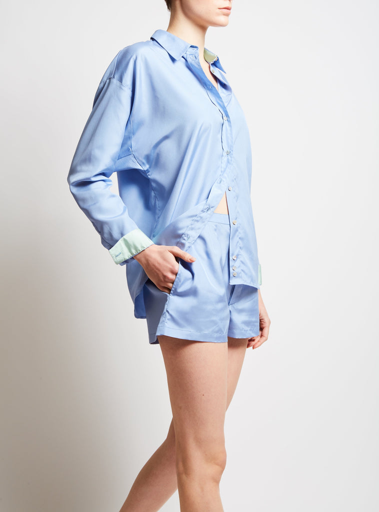 Kent Plain Silk Shirt