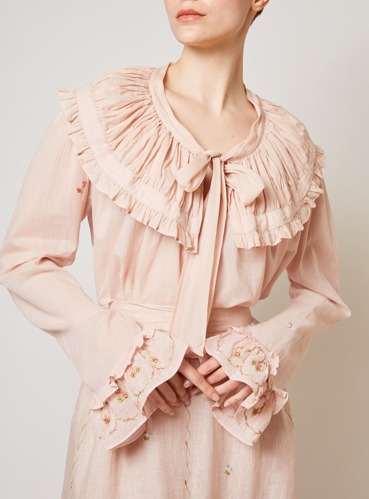 Dauphine Blouse Pink