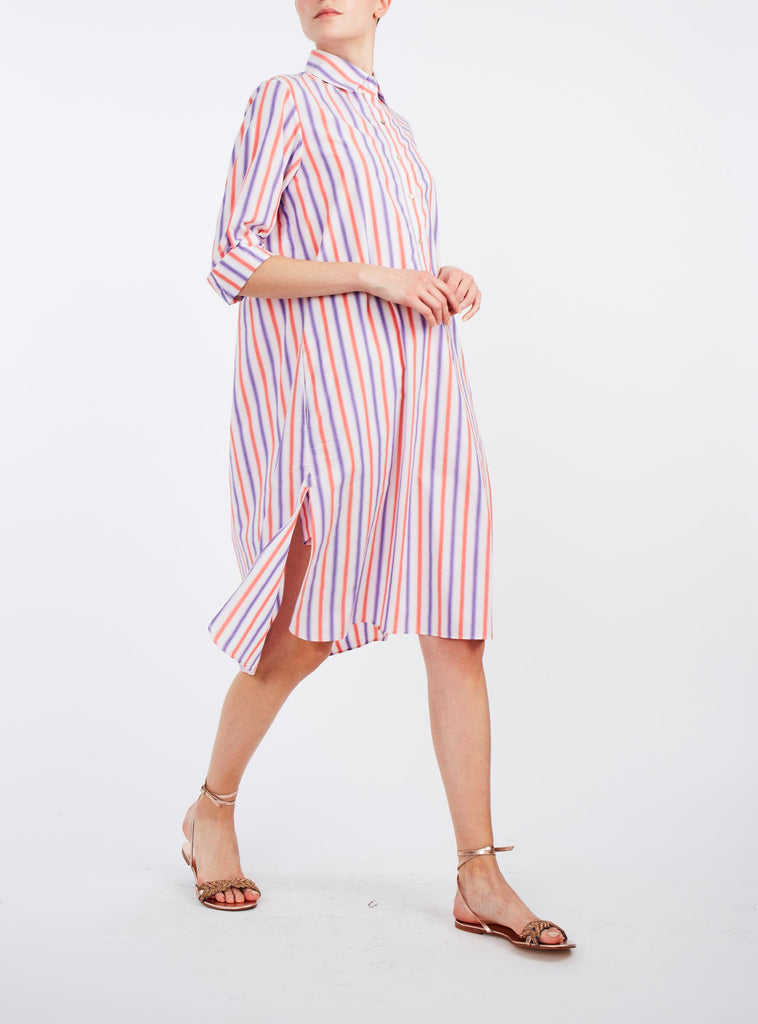Angelica Striped Dress
