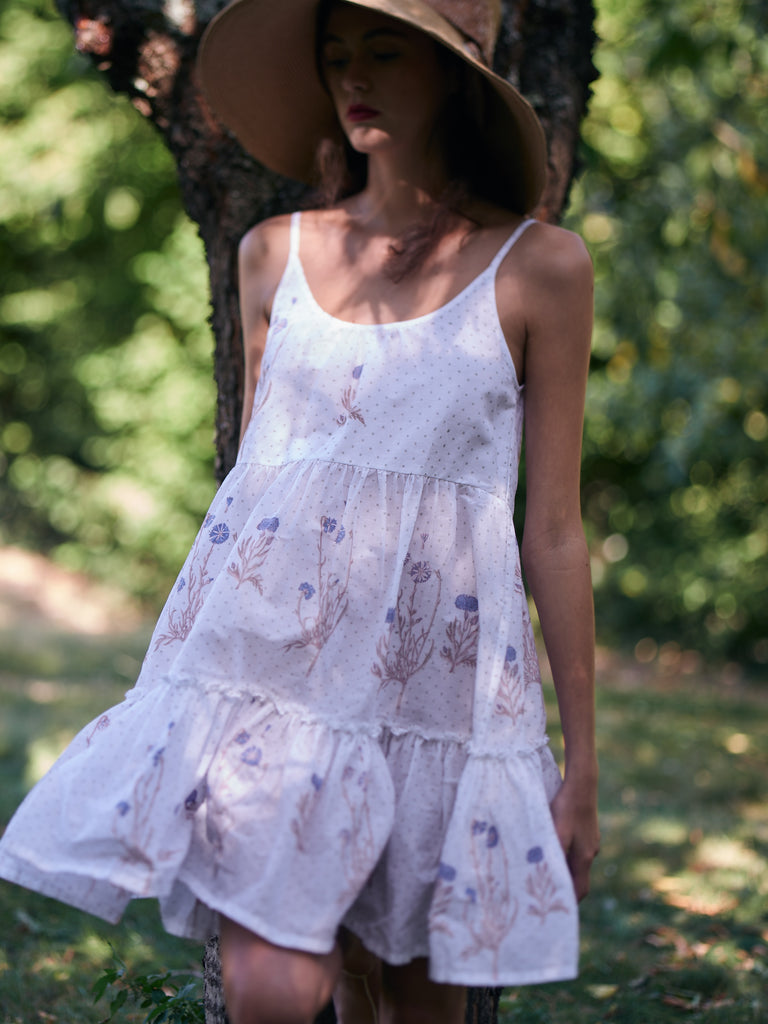 Verushka Wild Garden dress