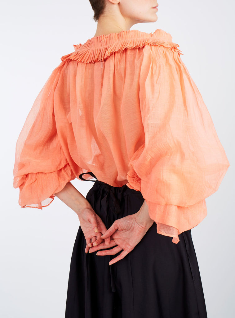 Roussia Blouse Coral