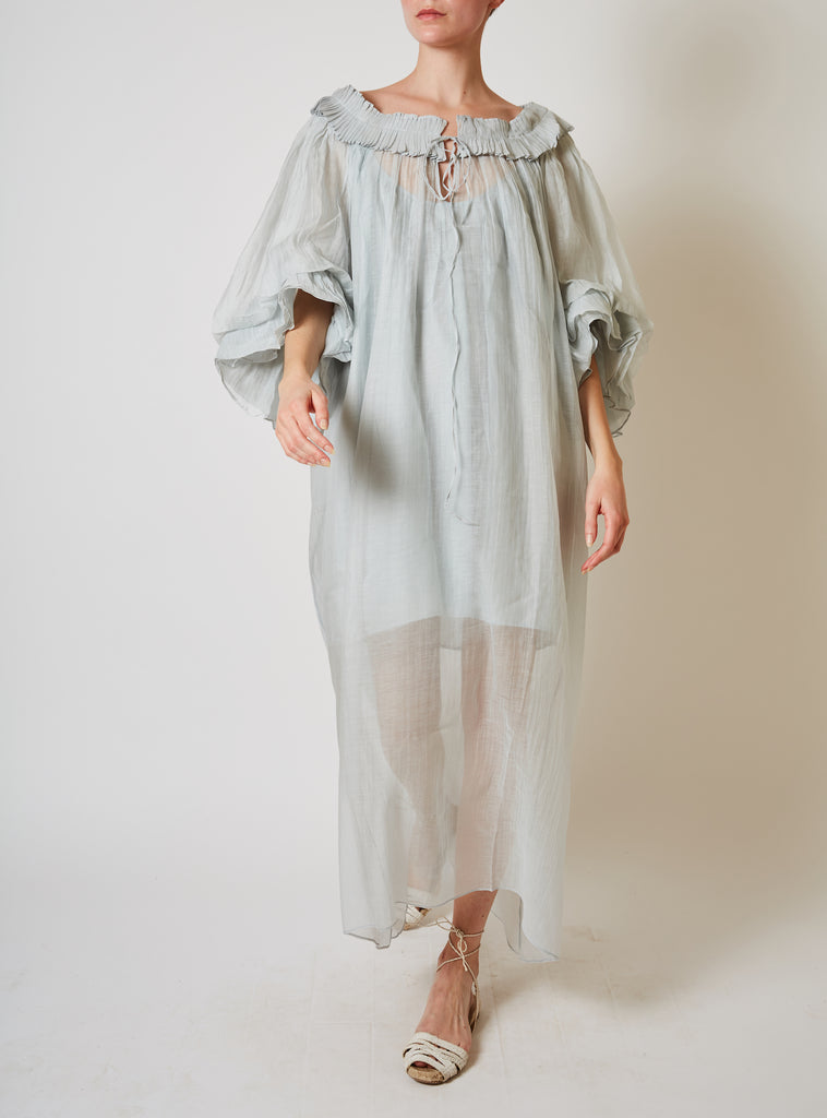Roussia Dress Pearl Grey