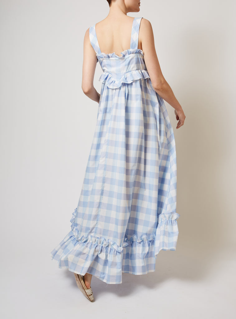 Valentina Gingham Dress