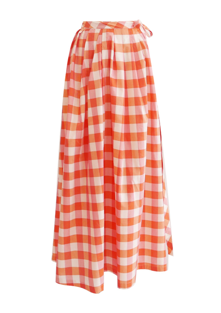 Java Gingham Skirt