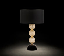 Load image into Gallery viewer, NERA Murano Glass Table Lamp