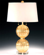 Load image into Gallery viewer, AMALFI Murano Glass Lamp