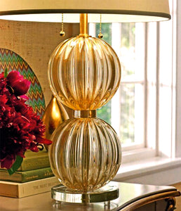 AMALFI Murano Glass Lamp