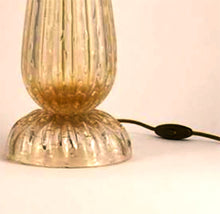 Load image into Gallery viewer, ANCONA Murano Glass Table Lamp