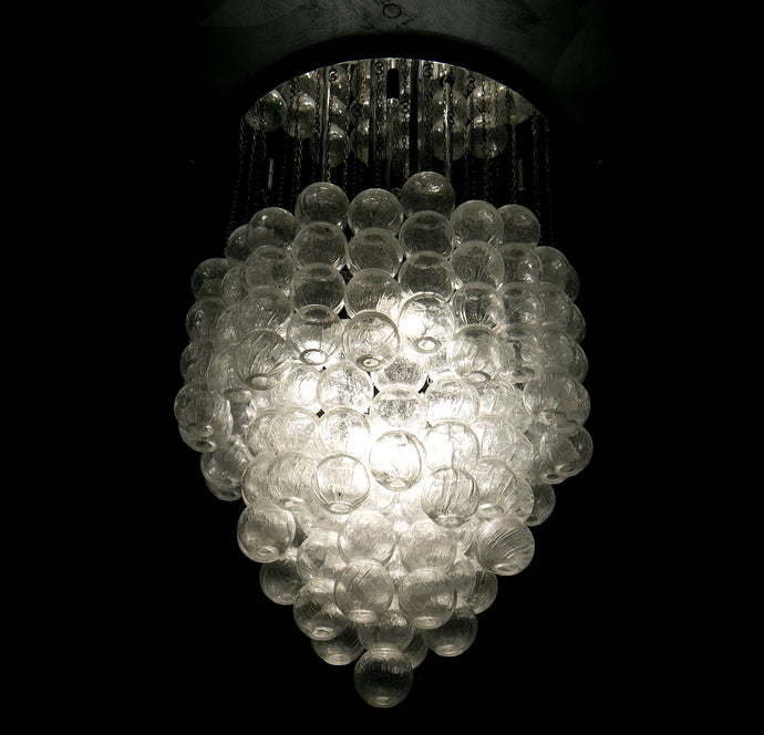 BUBBLE Murano Glass Chandelier