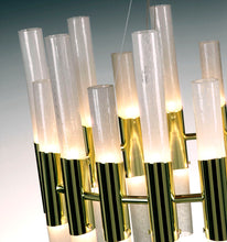 Load image into Gallery viewer, CANDELA Murano Glass Chandelier