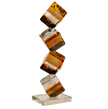 Load image into Gallery viewer, CUBE Murano Glass Sculpture