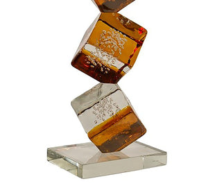 CUBE Murano Glass Sculpture