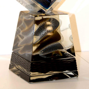 CUBO Murano Glass Sculpture