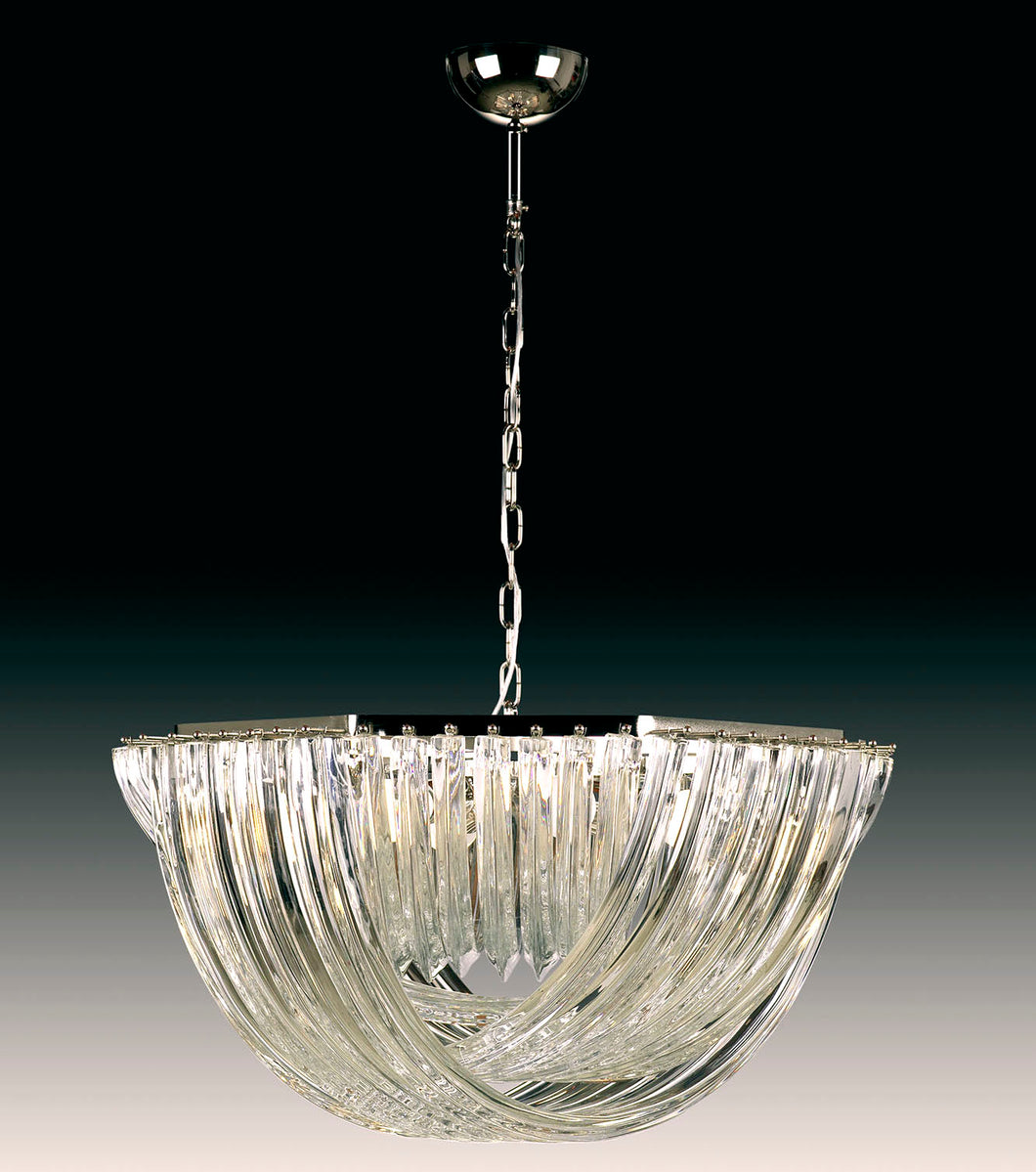 CURVE Murano Glass Chandelier