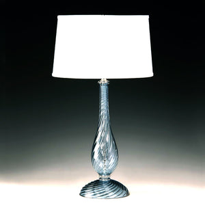 DONATO Murano Glass Table Lamp.