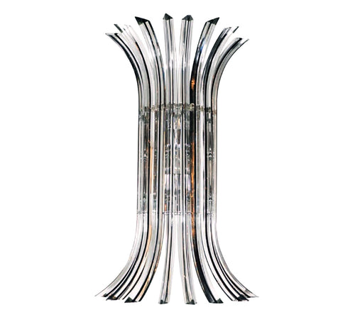 MILANO CURVE Murano Glass Wall Sconce
