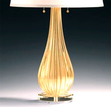 Load image into Gallery viewer, SAN MARCO Murano Glass Table Lamp.
