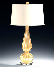 Load image into Gallery viewer, TREVISO Murano Glass Table Lamp