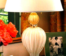 Load image into Gallery viewer, VENETO Murano Glass Table Lamp