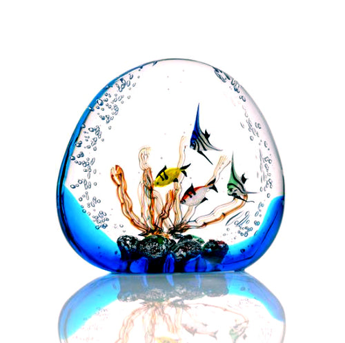 AQUARIUM Murano Glass Sculpture