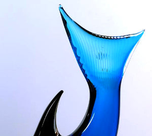AQUARIUS Murano Glass Sculpture