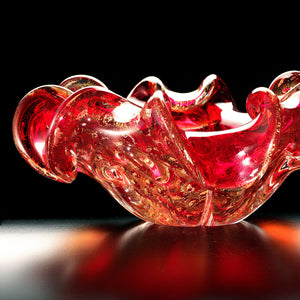 AURATI Murano Glass Bowl