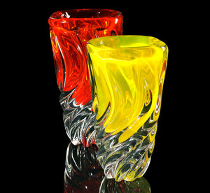 BATTILO Murano Glass Vase