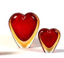 Load image into Gallery viewer, COR Heart Murano Glass Vase