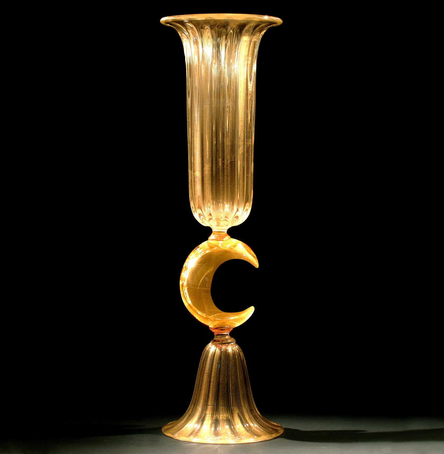 LUNA Large Murano Glass Vase