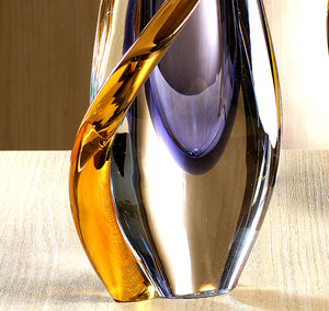 NERO Murano Glass Vase