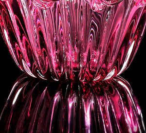 ROSE Murano Glass Bowl